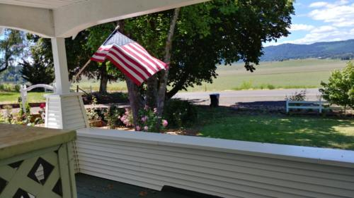 Farm Country Home Front Porch